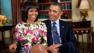 Szíriai menekültet hívott az elnök évértékelő beszédére Michelle Obama