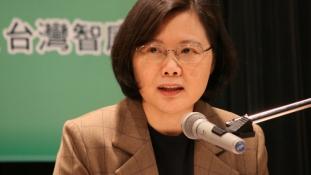 Három millió vokssal verte meg kihívóját Tajvan első női államfője