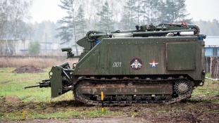 A jövő robotjait állították hadrendbe az oroszok