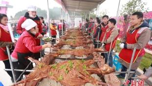 Birkazabálási világrekord Kínában
