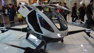 A közlekedés jövője – itt a személyszállító drón