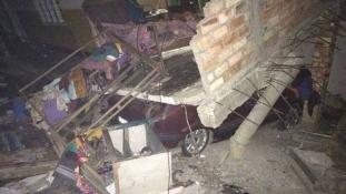 6,7-es földrengés volt Indiában