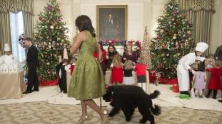 Jézus el akarta rabolni az elnök kutyáját