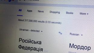 Oroszország=Mordor a Google Translate szerint