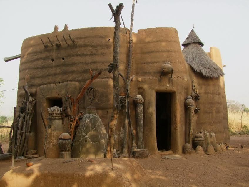 Ház Boukombé mellett