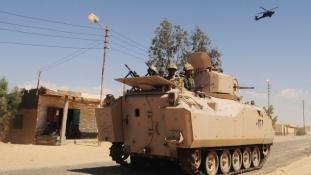 A hétvége óta 120 terroristával végeztek a Sínai-félszigeten