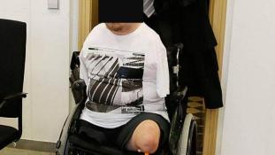Hat éves kislányt molesztált egy kéz és láb nélüli férfi