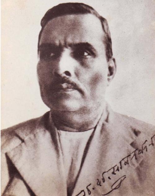 Ganesh Sarvarkar, a könyv írója.