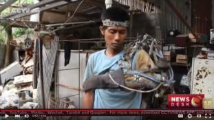 Az igazi Vasember? Bionikus kart épített a lebénult indonéz férfi