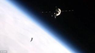UFÓ-t filmezett le a Nemzetközi Űrállomás kamerája