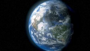 Így néz ki Földünk egy napja