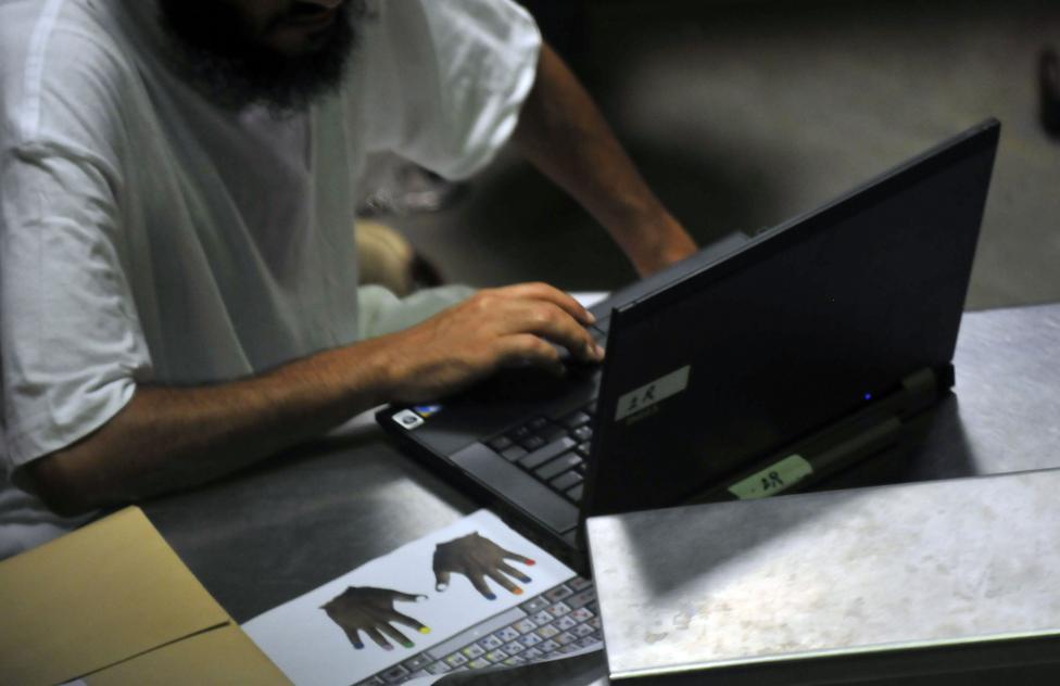 Számítógépes oktatás a reintgrációs órán,  2010. október 20.