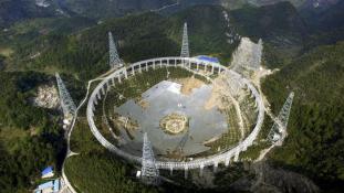 Kínának fontosabbak a földönkívüliek, mint a földlakók