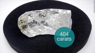 Így néz ki egy 404 karátos gyémánt