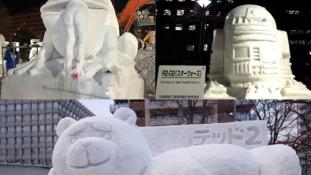 Képek az idei Sapporo Hófesztiválról