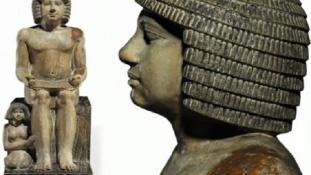 Szekhemka szobra ingázna Kairó és London között