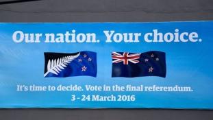 Ezüst páfránylevél vagy Union Jack? Zászlójukról szavaznak az új-zélandiak