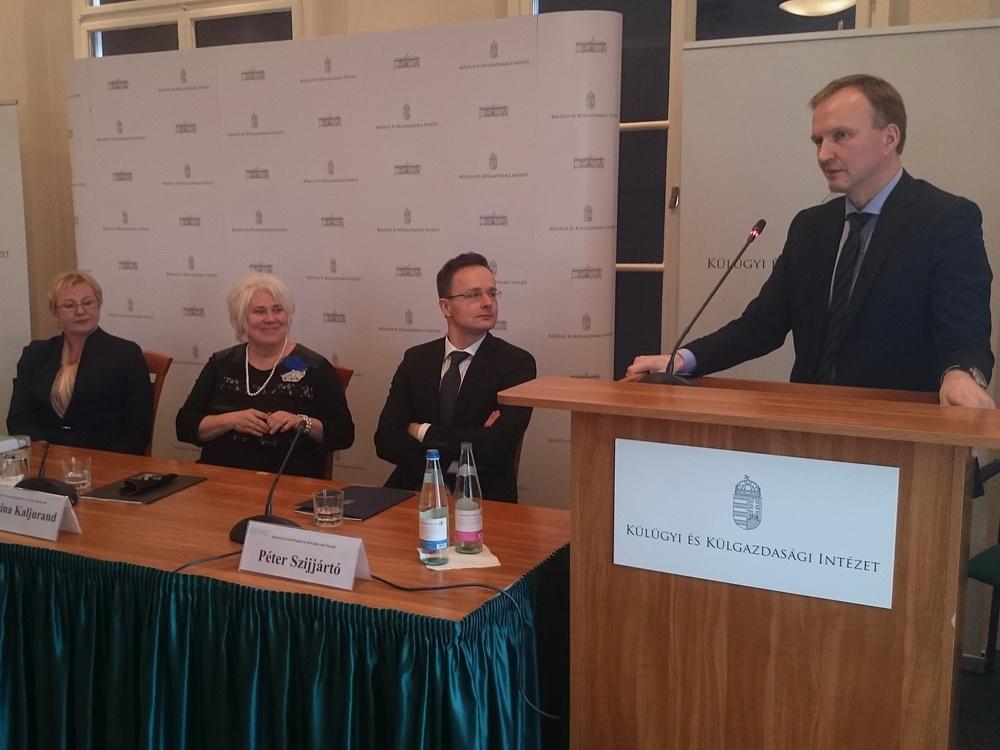 Andrejs Pildegovics Lettország Külügyminisztériumának államtitkára