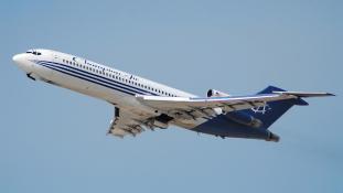 Elbúcsúzott a Boeing 727-es