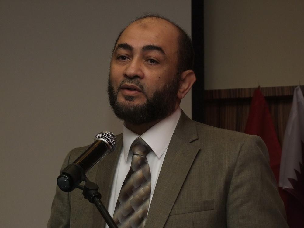 Hásim el-Mahrúki az Iszlám Világliga képviselője