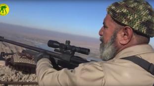62 éves mesterlövész tizedeli az Iszlám Állam harcosait (videóval)