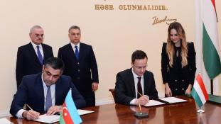 Szijjártó: Azerbajdzsán stabil szövetségese Magyarországnak