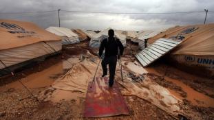Egyre rosszabb helyezetben a szír menekültek
