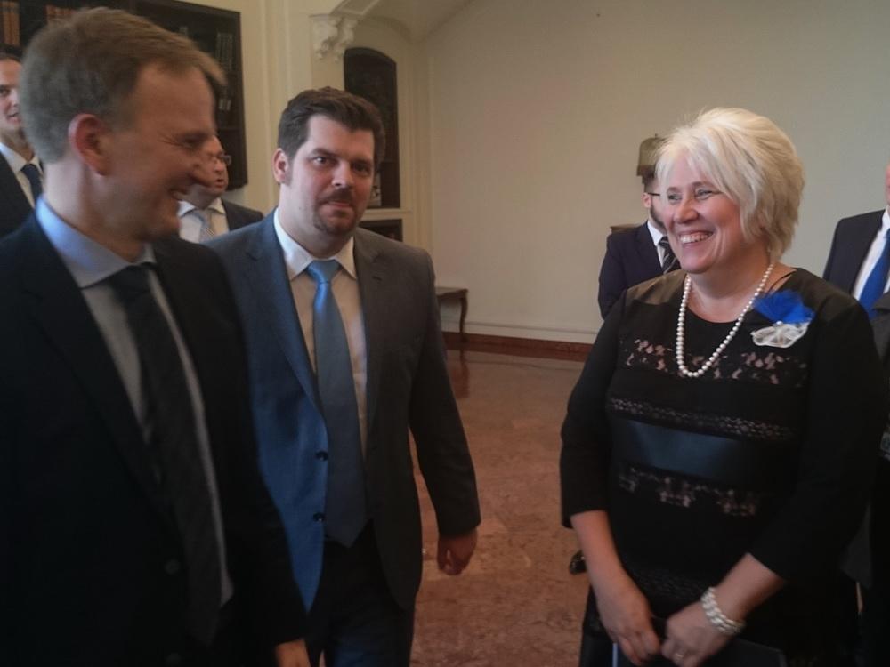 Ms. Marina Kaljurand Észtország  külügyminisztere