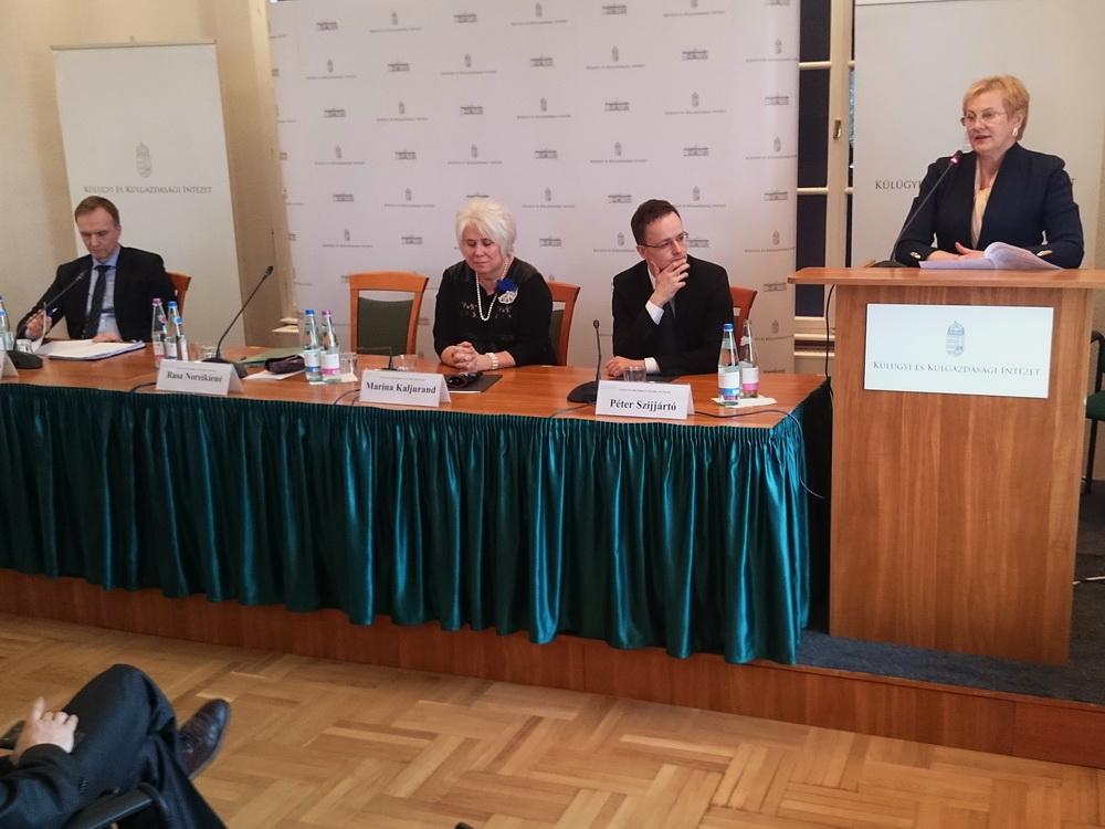 Ms.Rasa Noreikiené Litvánia gazdasági miniszterhelyettese