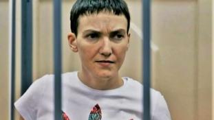 Kijev német orvosokkal vizsgáltatná meg az éhségsztrájkoló pilótanőt