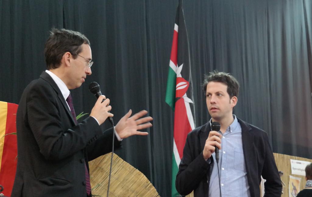 Dr. Kiss Róbert Richard és Bucsky Péter.