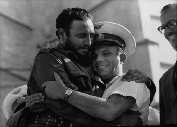 Fidel Castróval Havannában, 1961-ben
