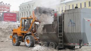 Moszkvát betakarta a hó