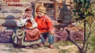 Ilyenek voltak az orosz húsvéti képeslapok 1917 előtt