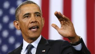 Trumpnak üzent Obama