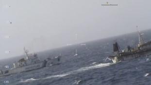 Kínai halászhajót süllyesztett el az argentin parti őrség