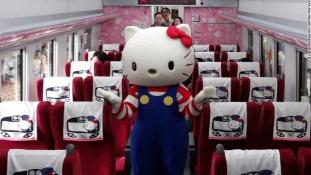 Elindult a Hello Kitty expressz