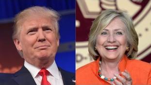 Clinton és Trump napja volt a kedd