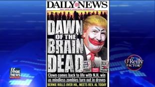 Gerillaharc Donald Trump ellen