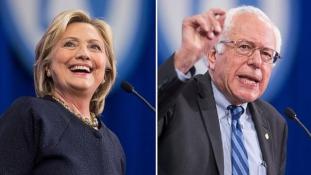 Egymás alkalmasságát vitatta Clinton és Sanders