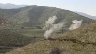Az azeri erők ismét Hegyi-Karabahot lőtték