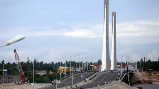 Átadták Afrika egyik leghosszabb hídját