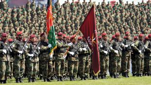 Támadás a tálibok ellen Afganisztánban