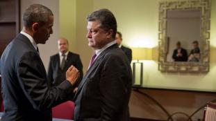 Egymilliárdot adna Kijevnek Obama