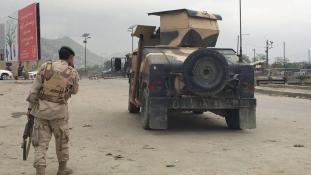 Nagy erejű robbanás Kabulban, halottak is vannak