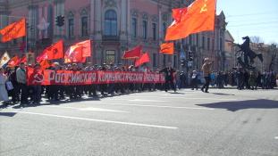 Május 1. helyett a húsvétot választotta az orosz szakszervezet