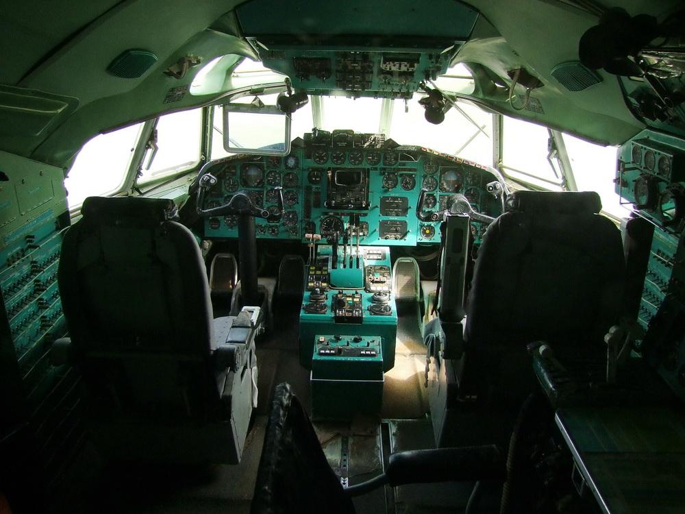 TU 154 pilótafülke