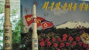 Amerikát is elérheti új atomrakétájával Észak-Korea