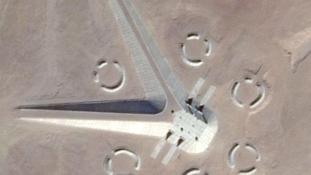Titkos földönkívüli bázist találtak az egyiptomi sivatagban?