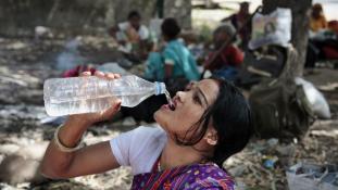 Szokatlan hőség gyilkol Indiában